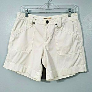 Mossimo Junior Women/'s Florescent Pink White Palm Trees Jean Shorts sizes 3 5 9
